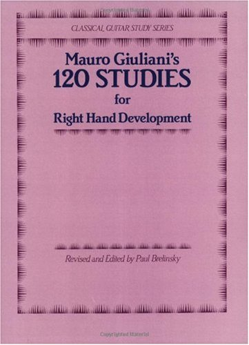 120 Studies for Right Hand Development   1983 edition cover