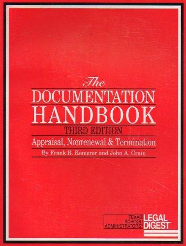 Documentation Handbook : Appraisal, Nonrenewal and Termination 2nd 2005 edition cover