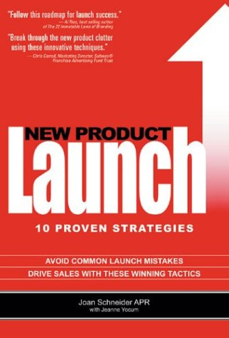 New Product Launch 10 Proven Strategies  2004 9780975297902 Front Cover