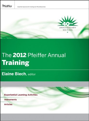 2012 Pfeiffer Annual Training  2012 9781118073902 Front Cover