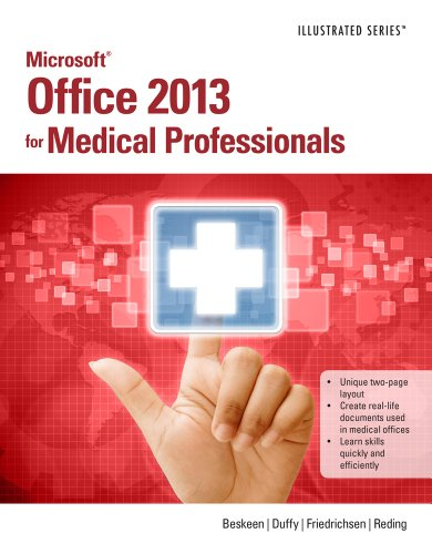 Microsoft� Office 2013 for Medical Professionals   2014 edition cover