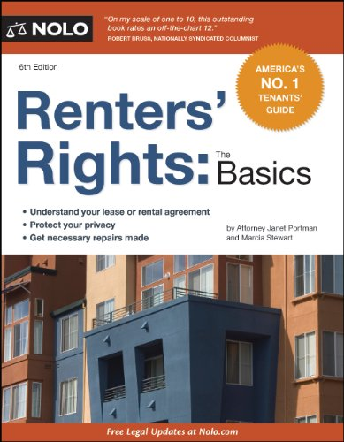 Renters' Rights The Basics 7th 2012 (Revised) edition cover