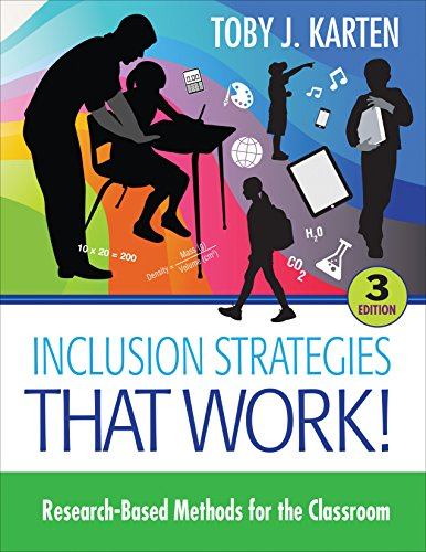 Inclusion Strategies That Work! Research-Based Methods for the Classroom 3rd 2015 edition cover