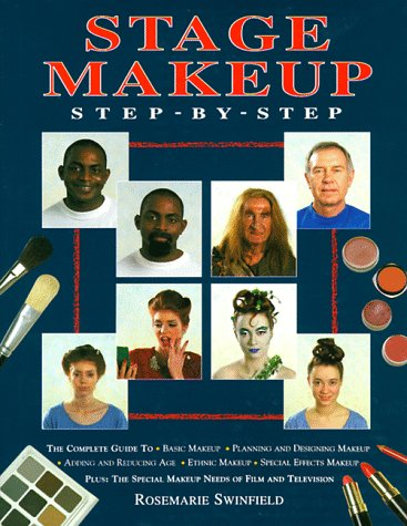 Stage Makeup Step-by-Step 1st 1995 edition cover