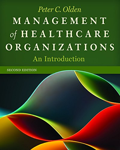 Management of Healthcare Organizations An Introduction 2nd 2015 edition cover