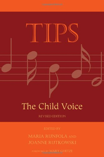 Tips The Child Voice 2nd 2010 edition cover