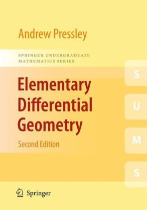 Elementary Differential Geometry  2nd 2010 edition cover