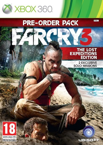 Far Cry 3 - The Lost Expeditions Edition (Xbox 360) Xbox 360 artwork