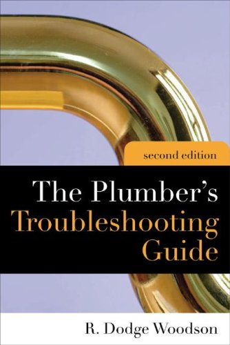 Plumber's Troubleshooting Guide  2nd 2009 edition cover
