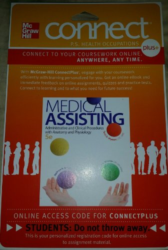 MEDICAL ASSISTING-CONNECTPLUS  N/A edition cover