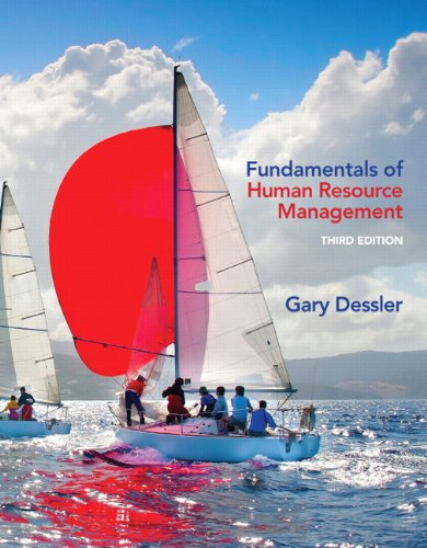 Fundamentals of Human Resource Management  3rd 2014 edition cover