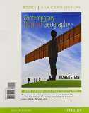 Contemporary Human Geography, Books a la Carte Plus MasteringGeography with EText -- Access Card Package  3rd 2016 edition cover