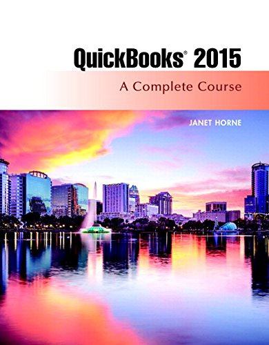 QuickBooks 2015 A Complete Course and Access Card Package 16th 2016 9780134325903 Front Cover