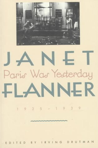 Paris Was Yesterday, 1925-1939   1988 edition cover