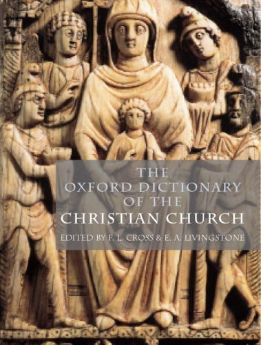 Oxford Dictionary of the Christian Church  2nd 2005 (Revised) edition cover