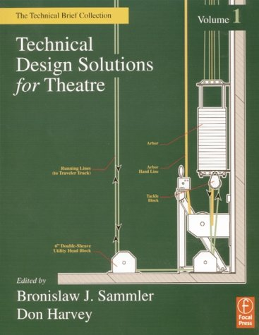 Technical Design Solutions for Theatre   2002 9780240804903 Front Cover