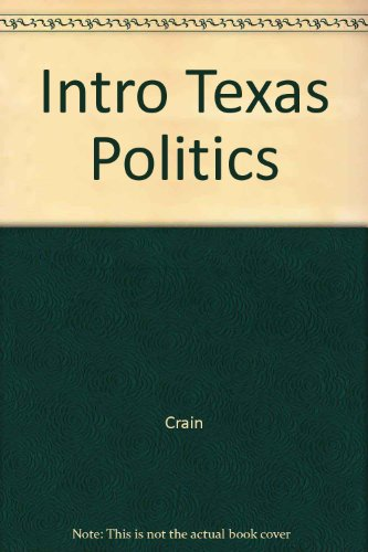 Introduction to Texas Politics 1st 9780314055903 Front Cover