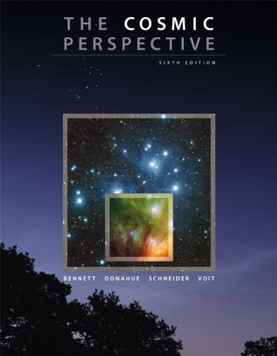 Cosmic Perspective  6th 2010 edition cover
