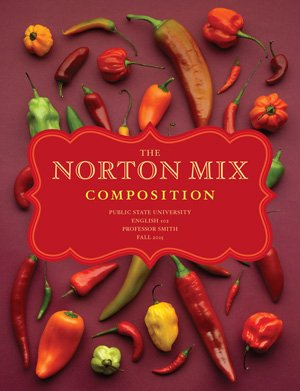 NORTON MIX COMP.:FOOD WRITING >CUSTOM<  N/A edition cover