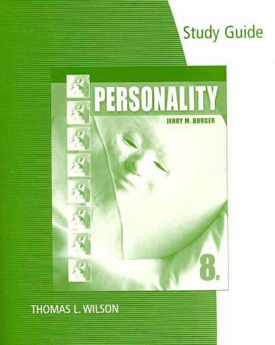 Personality  8th 2011 (Guide (Pupil's)) edition cover