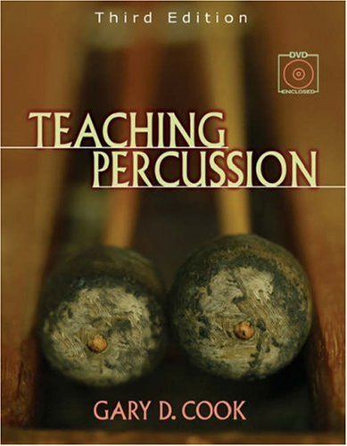 Teaching Percussion  3rd 2006 (Revised) 9780534509903 Front Cover