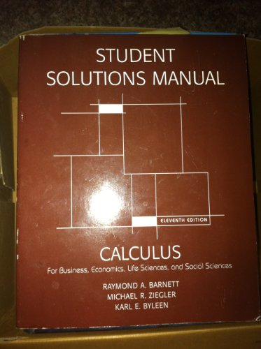 APPLIED CALCULUS F/BUS.STUD. > N/A 9780536451903 Front Cover