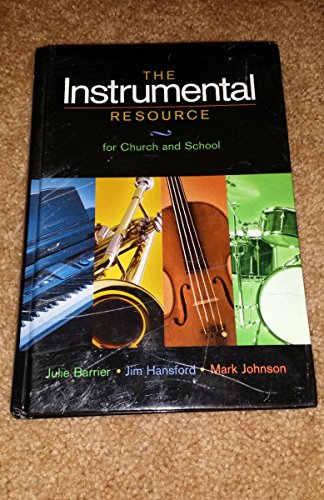 Instrumental Resource Church 1st edition cover