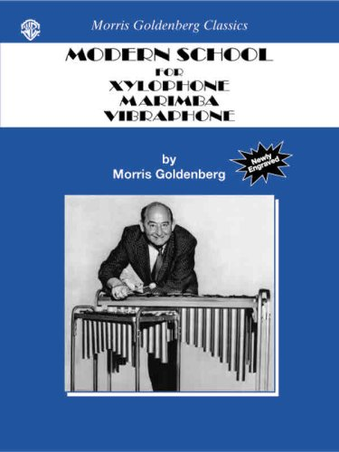 Modern School for Xylophone, Marimba, Vibraphone   2002 edition cover