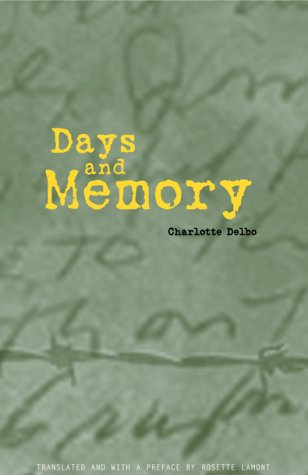 Days and Memory   2001 (Reprint) edition cover