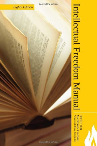 Intellectual Freedom Manual  8th 2010 edition cover