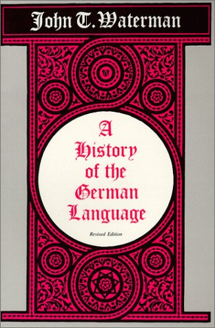 History of the German Language  Revised edition cover