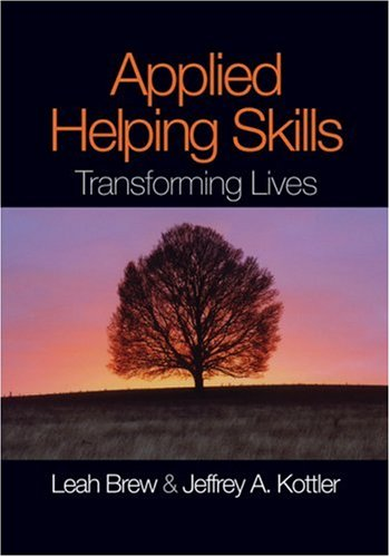 Applied Helping Skills Transforming Lives  2008 edition cover