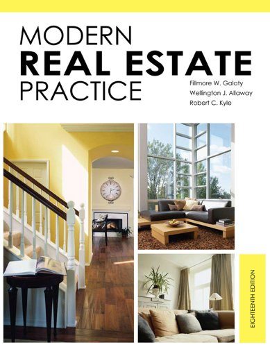 Modern Real Estate Practice  2010 9781427787903 Front Cover