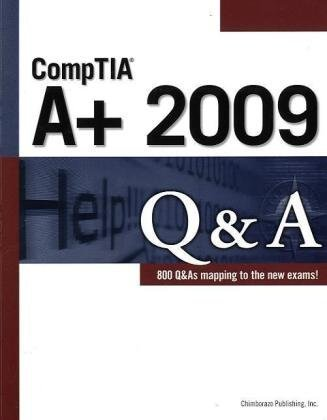 CompTIA A+ 2009 Q&A  3rd 2010 9781435454903 Front Cover