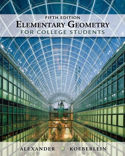 Elementary Geometry for College Students  5th 2011 edition cover
