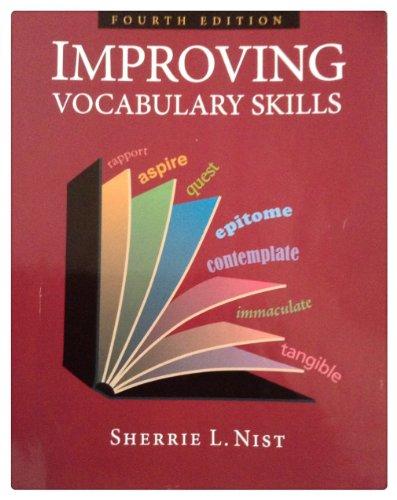 Improving Vocabulary Skills  4th 2009 edition cover