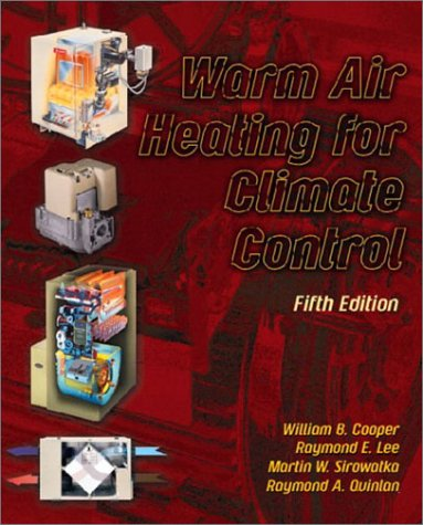 Warm Air Heating for Climate Control  5th 2003 edition cover