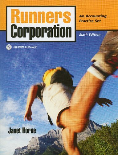 Runners Corporation A Merchandise Distributor 6th 2010 9780135095904 Front Cover