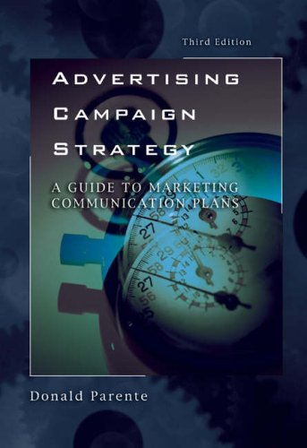 Advertising Campaign Strategy  3rd 2004 edition cover