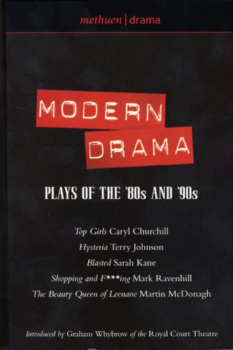 Modern Drama Plays of the '80s and '90s  2001 edition cover