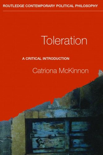 Toleration A Critical Introduction  2004 edition cover