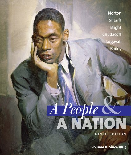 People and a Nation A History of the United States Since 1865 9th 2012 edition cover