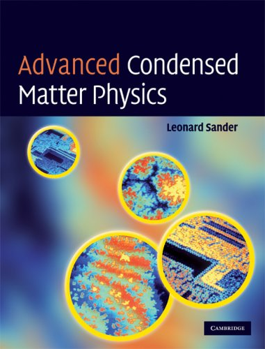 Advanced Condensed Matter Physics   2009 9780521872904 Front Cover
