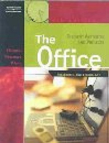 Office Procedures and Technology 4th 2003 9780538434904 Front Cover