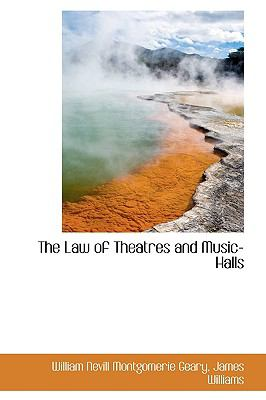 Law of Theatres and Music-Halls N/A edition cover
