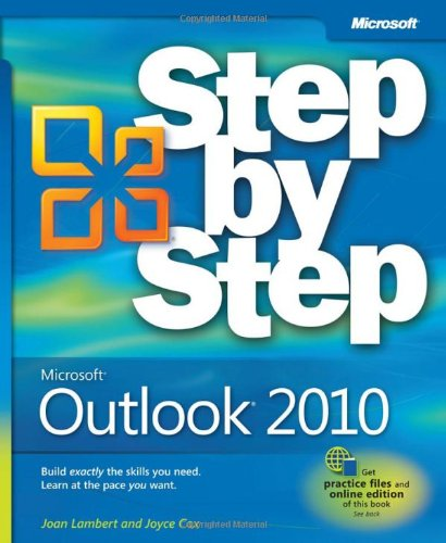 Microsoft� Outlook� 2010   2010 edition cover