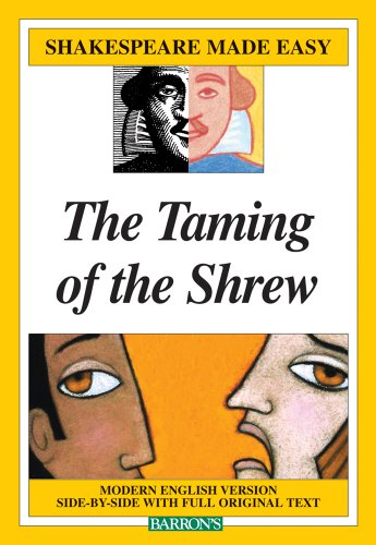 Taming of the Shrew   2009 edition cover
