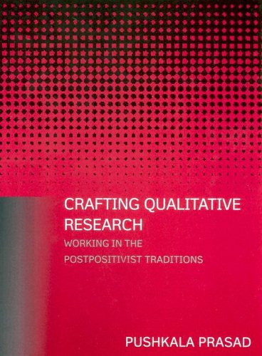 Crafting Qualitative Research Working in the Postpositivist Traditions  2005 edition cover