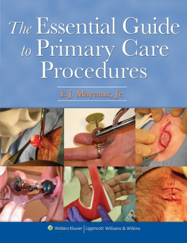 Essential Guide to Primary Care Procedures   2009 edition cover