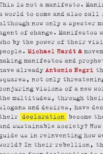 Declaration   2012 9780786752904 Front Cover